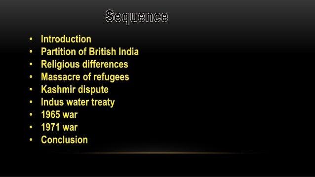 Short essay on Pakistan & India Relations
