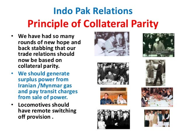 indo pak relations Considering pakistani foreign policy is dictated by rawalpindi, not islamabad, it remains to be seen what sort of impact elections in pakistan will have in indo-pak relations.