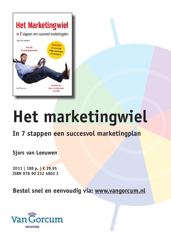 Het marketingwie           Van Leeuwen                                Het Marketingwiel                                   ...
