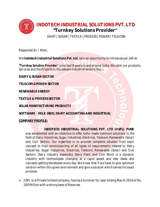 telecom cover letter