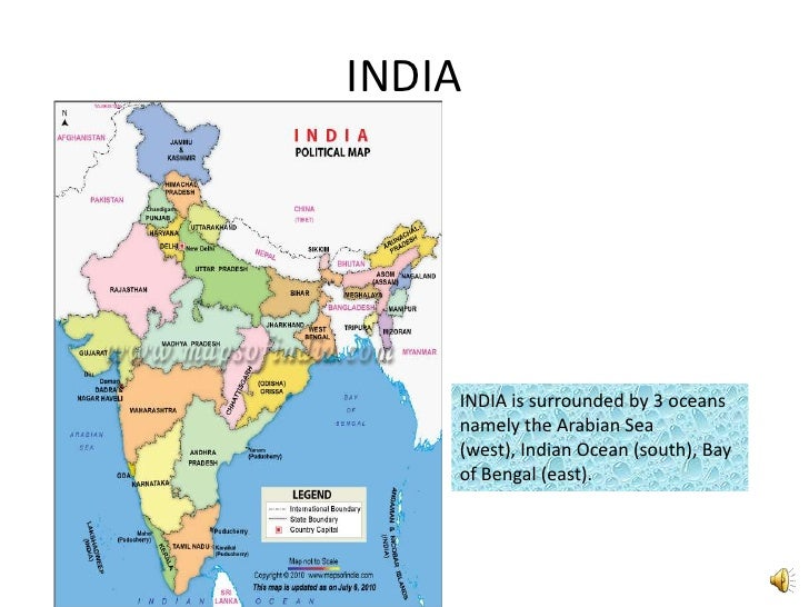 Indian seas and ocean india india is surrounded by 3 oceans namely the arabian sea west gumiabroncs Images