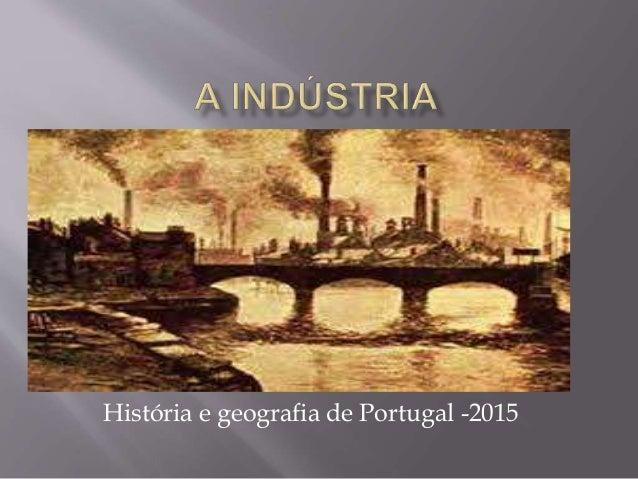 História e geografia de Portugal -2015