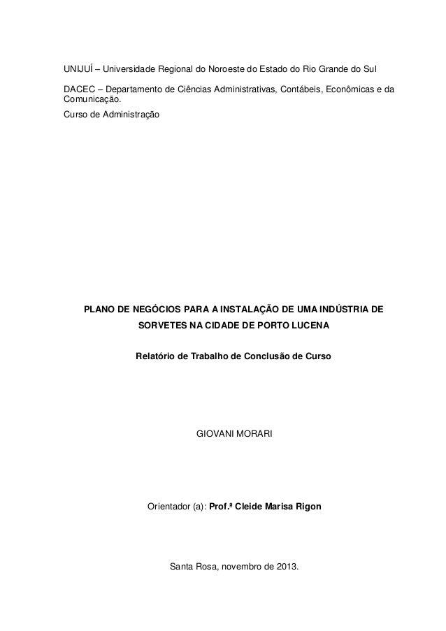 UNIJUÍ – Universidade Regional do Noroeste do Estado do Rio Grande do Sul DACEC – Departamento de Ciências Administrativas...