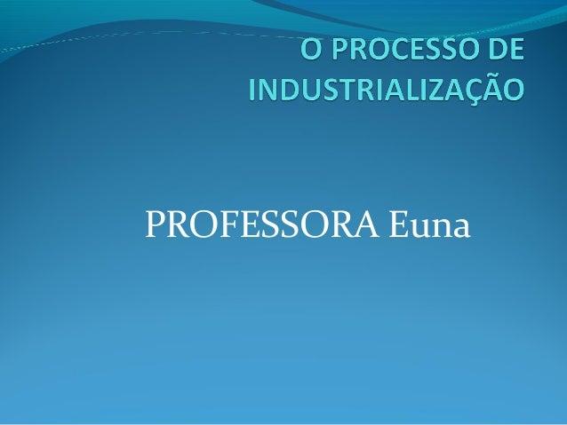 PROFESSORA Euna
