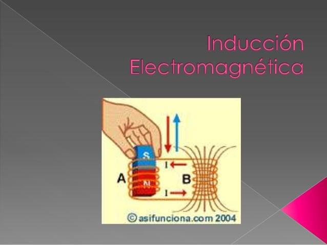 Cuando se mueve un imán en las proximidades de la bobina, se observa cómo el amperímetro detecta una corriente eléctrica