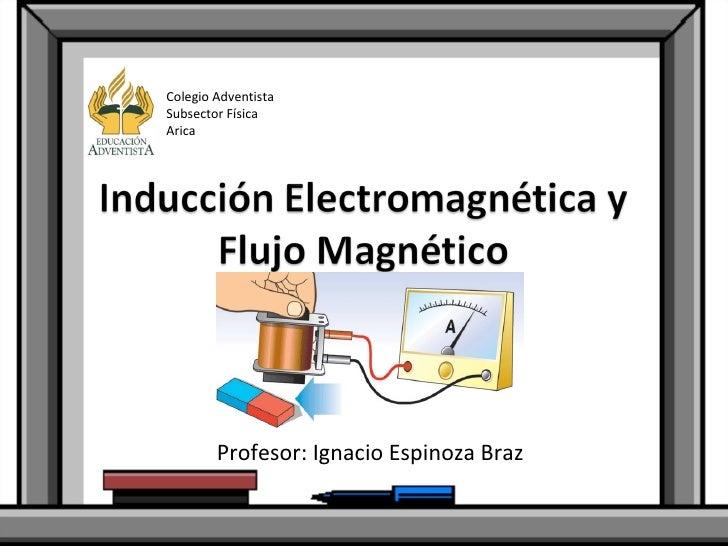 Profesor: Ignacio Espinoza Braz Colegio Adventista Subsector Física Arica
