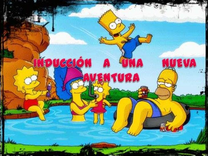 INDUCCIÓN   A   UNA     NUEVA           AVENTURA<br />