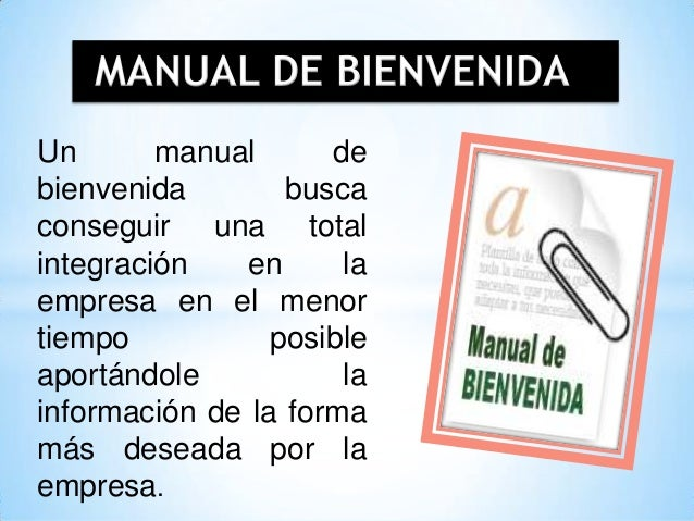 Induccion capacitacion de personal for Manual de operaciones de un restaurante ejemplo