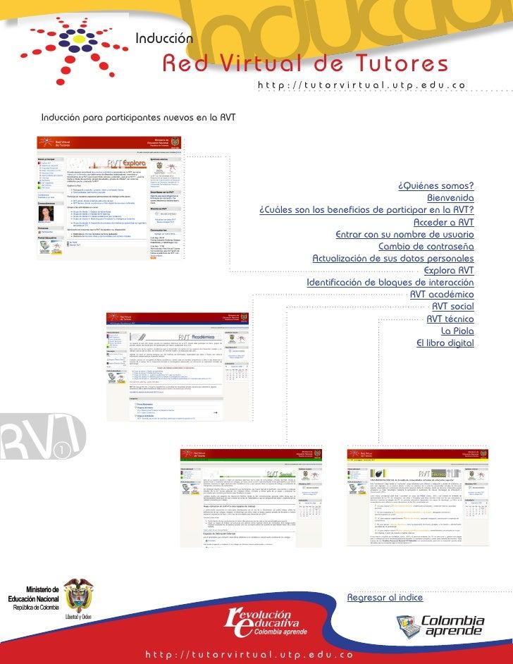 Inducción                                      Inducción                              Red Virtual de Tutores              ...