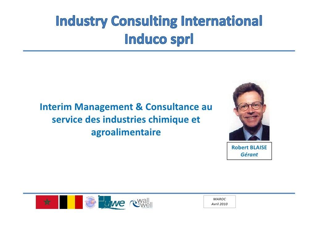 InterimManagement&Consultanceau    servicedesindustrieschimiqueet             agroalimentaire                   ...