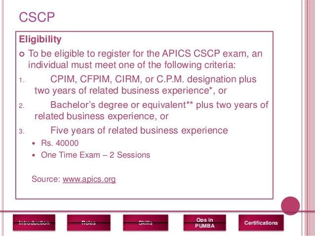 CPM & CPIM Certification | Career Trend