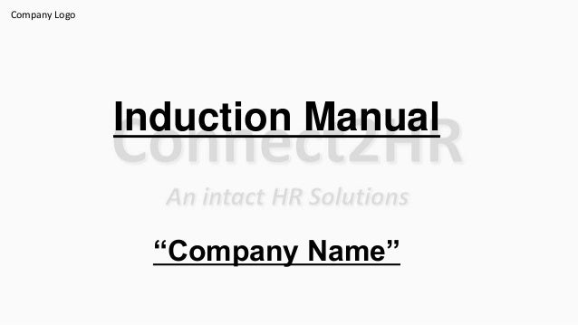 Induction Manual