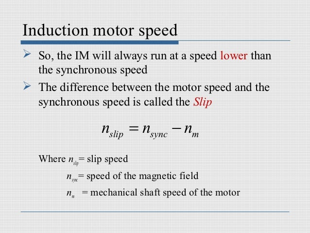 What is the difference between synchronous motor and induction motor - Difference entre induction et vitroceramique ...