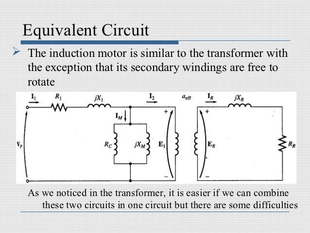 Induction machines equivalent circuit the induction motor swarovskicordoba Choice Image