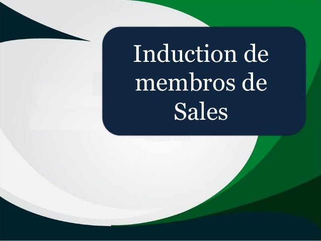 Induction de membros de Sales