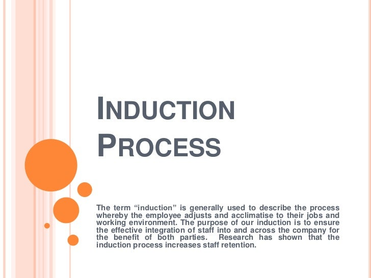 Induction process for Induction procedure template