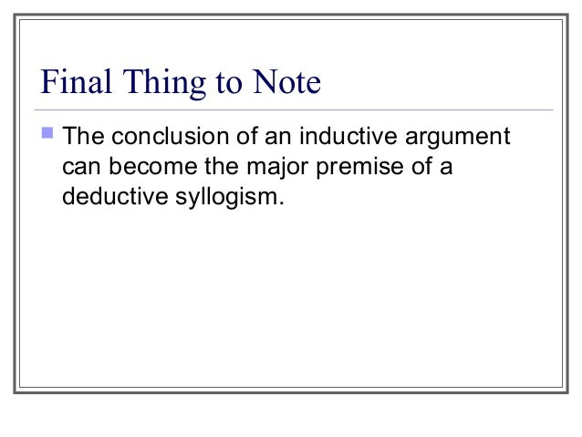 """an introduction to the analysis of deductive reasoning Inductive and deductive research approaches 3 introduction trochim (2006) refers to two """"broad methods of reasoning as the inductive and deductive."""
