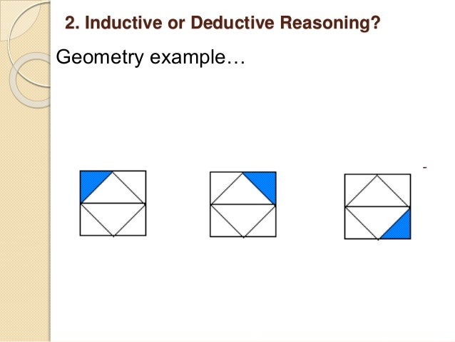 is the argument above inductive or deductive why