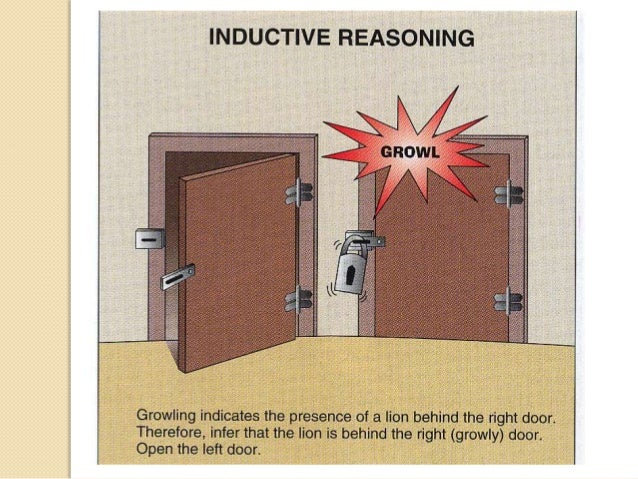 Deductive Reasoning   Deductive Reasoning – A type of  logic in which one goes from a general  statement to a specific in...