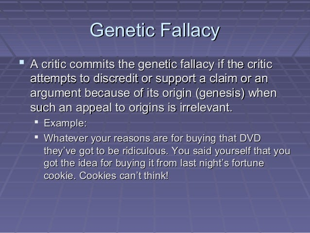 logical fallacies essay Define logical fallacy, overly broad generalization, non sequitur, and either/or fallacy identify these fallacies in arguments and understand how to avoid them to unlock this lesson you must be a.