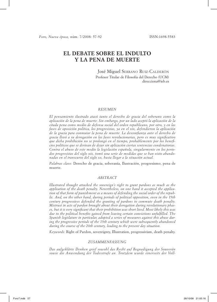 Foro, Nueva época, núm. 7/2008: 57-92                                         ISSN:1698-5583                              ...