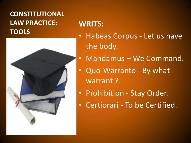 law of writs Writ definition, a formal order under seal, issued in the name of a sovereign, government, court, or other competent authority, enjoining the officer or other person to whom it is issued or addressed to do or refrain from some specified act.