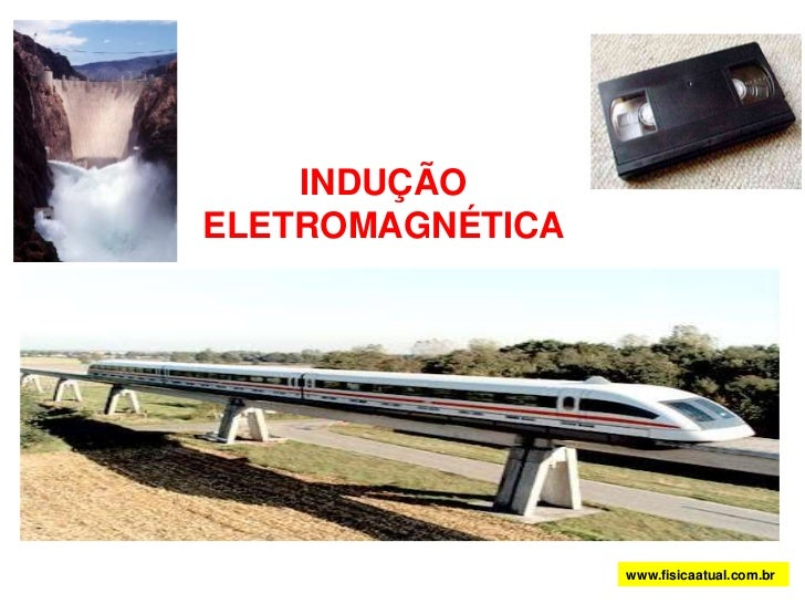 <br />INDUÇÃO ELETROMAGNÉTICA<br />www.fisicaatual.com.br<br />