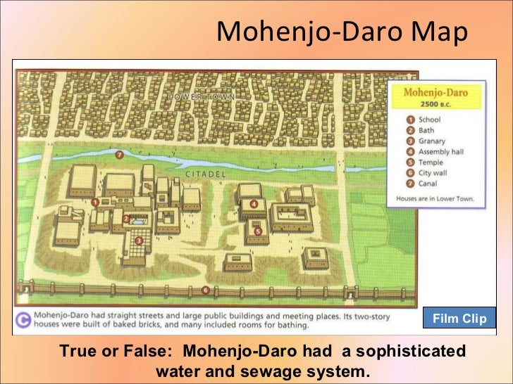 Mohenjo Daro Map ...
