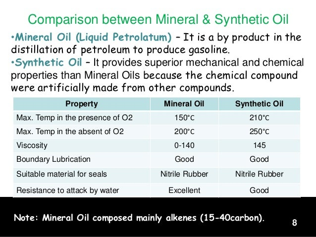 Industial gas turbine week 8 for What is the difference between motor oils