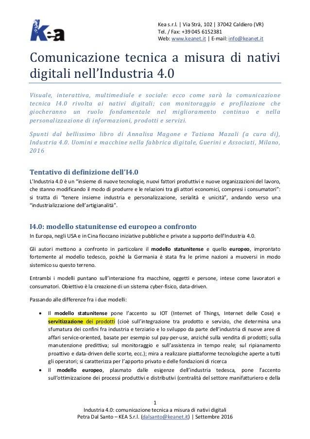 Kea s.r.l.   Via Strà, 102   37042 Caldiero (VR) Tel. / Fax: +39 045 6152381 Web: www.keanet.it   E-mail: info@keanet.it 1...