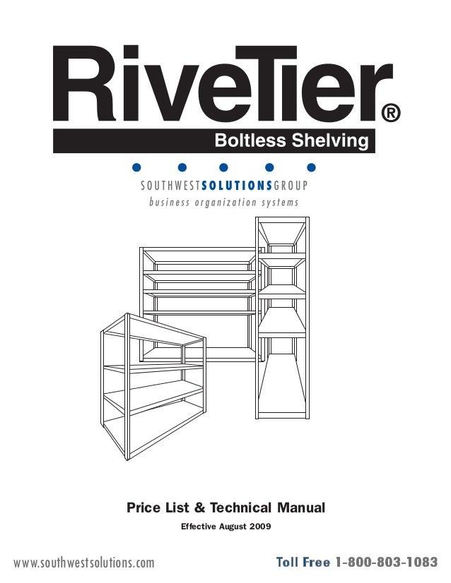 Industrial Boltless Shelving