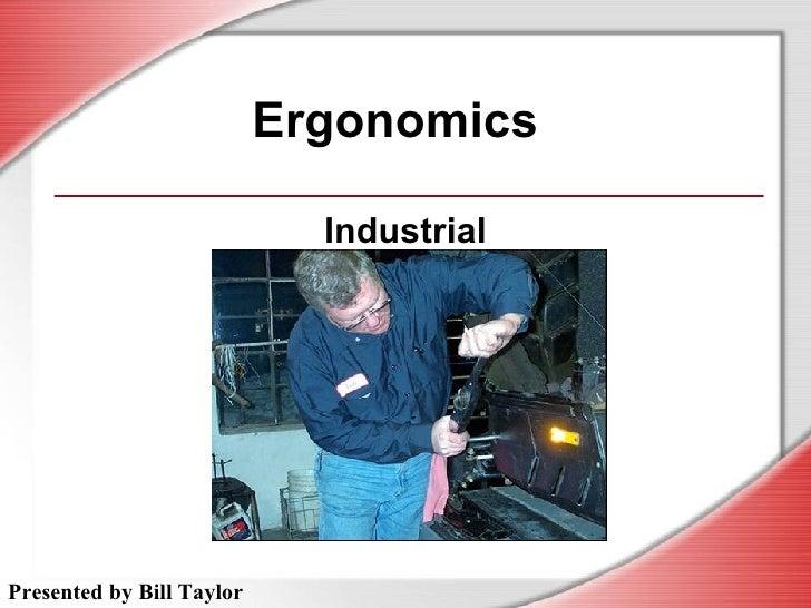 Ergonomics Industrial