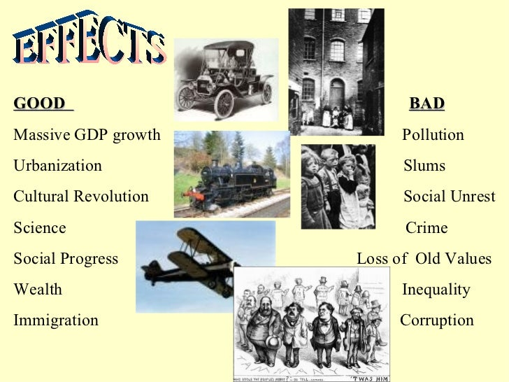 effects of industrial revolution