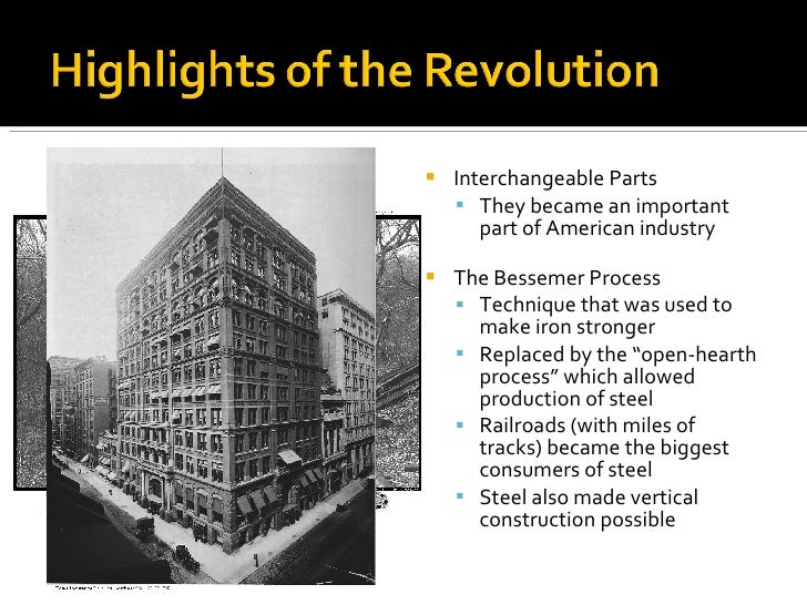 the consequences of the industrial revolution in the united states The industrial revolution was a time of growth and transformation for the united states there were numerous changes that were taking place during this time that had tremendous impacts on culture.