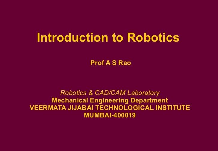 Robotics. Ppt download.