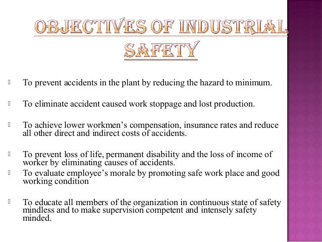 Essay on industrial safety pdf