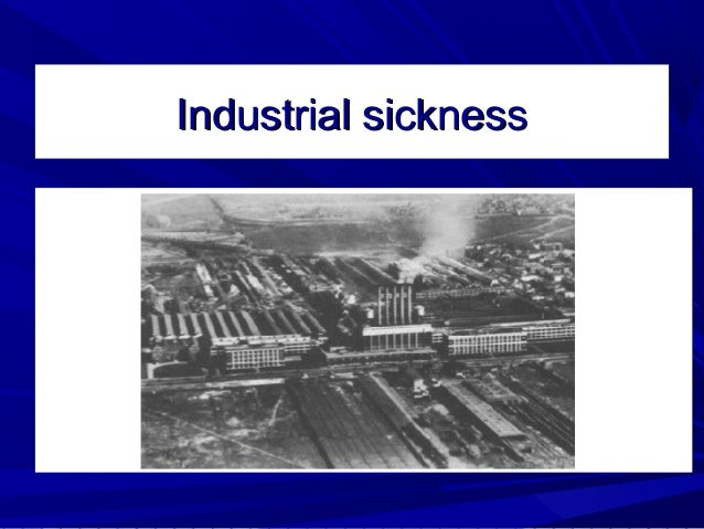 industrial sickness Get this from a library industrial sickness in india : the role of bifr [m s narayanan india] -- on the role played by the board for industrial and financial reconstruction in dealing with industrial sickness in india and discusses the outline of sick industrial companies (special provisions.