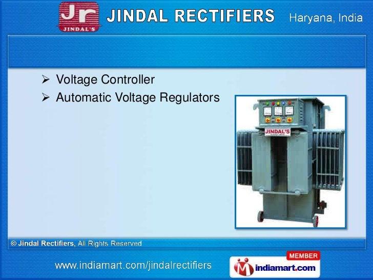  Voltage Controller Automatic Voltage Regulators