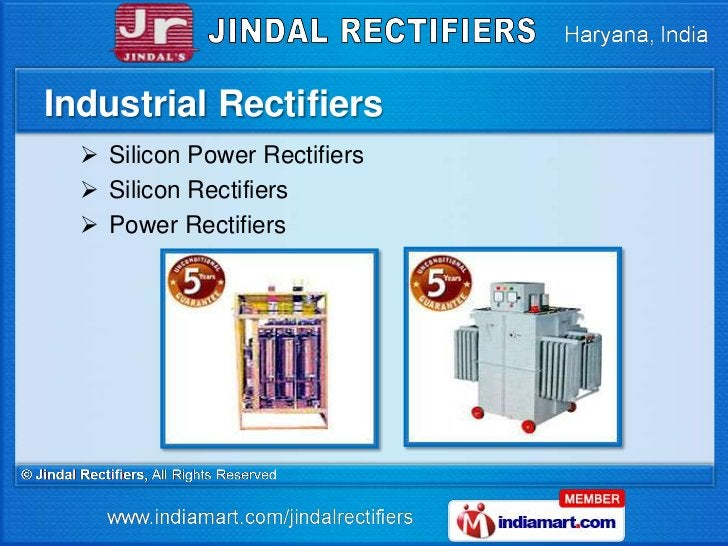 Industrial Rectifiers   Silicon Power Rectifiers   Silicon Rectifiers   Power Rectifiers