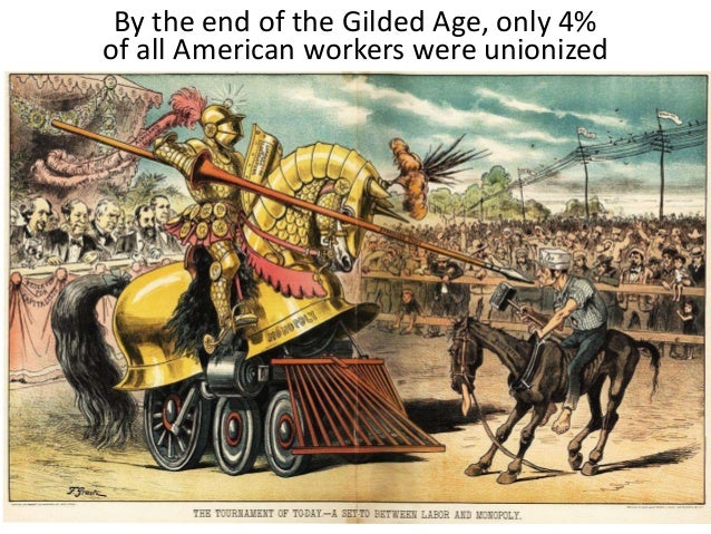 """were workers in the gilded age Mark twain named the decades after 1865 the """"gilded age,"""" and  accidents  affecting workers and passengers alike were numerous."""