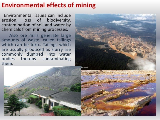 Social effects of strip mining