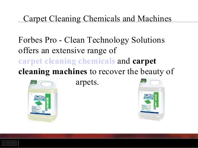 Industrial And Residential Cleaning Chemicals And Machines