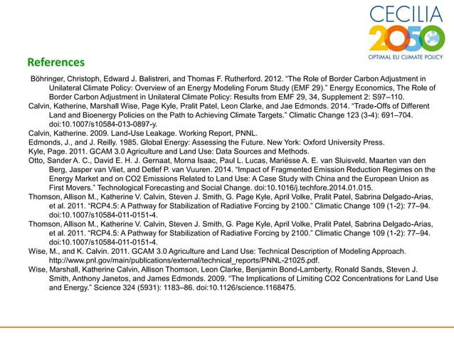"17 References Böhringer, Christoph, Edward J. Balistreri, and Thomas F. Rutherford. 2012. ""The Role of Border Carbon Adjus..."