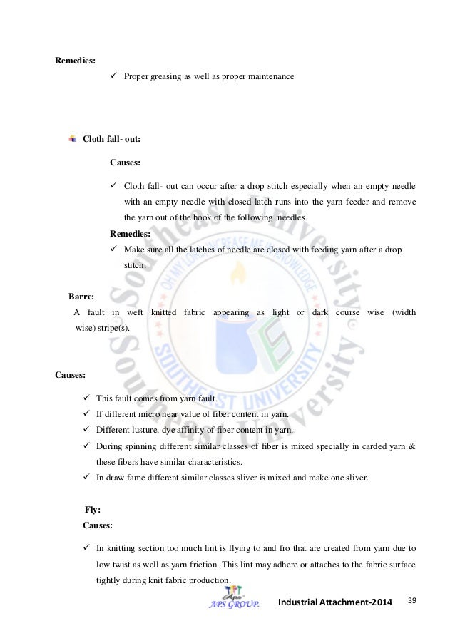d72707524b0 Industrial attachment of APS group ltd