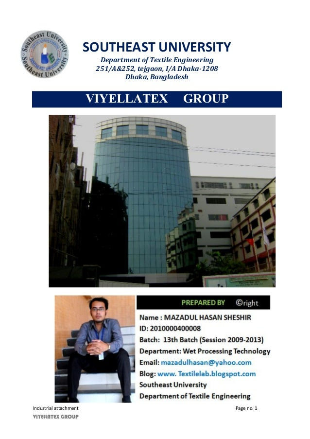 Industrial attachment of viyellatex group