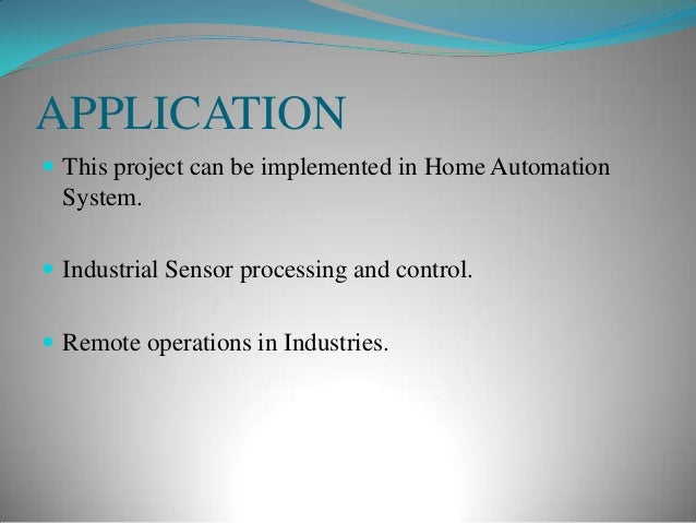 Industrial Automation Using Gsm Ppt