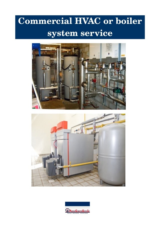 CommercialHVACorboiler systemservice