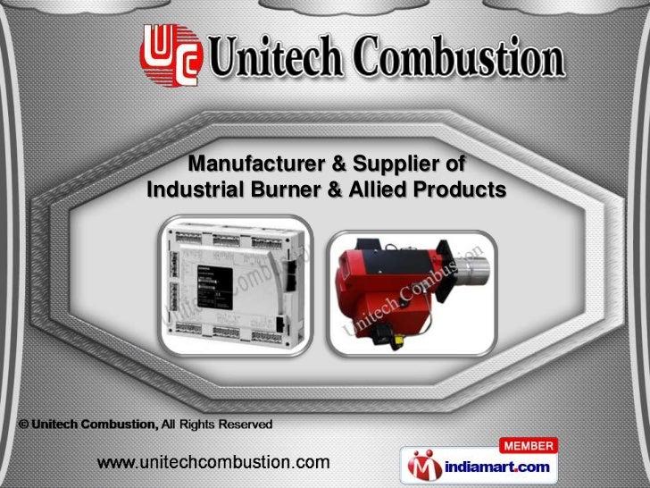 Manufacturer & Supplier ofIndustrial Burner & Allied Products