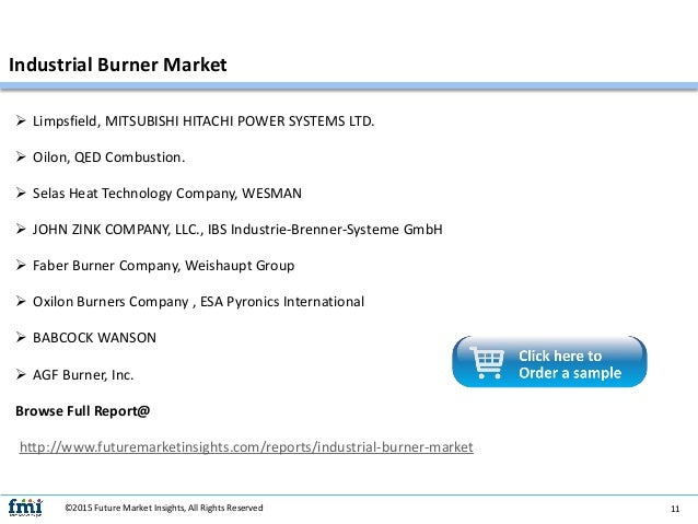 Industrial Burner Market Information Figures And