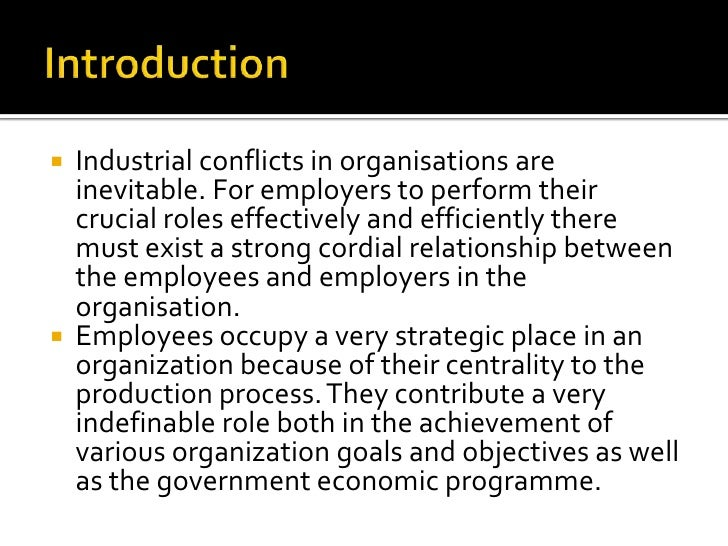 the concept of conflict as an inevitable part of working in an organization Through showing the three faces of work-family conflict de-skilling of women who work part time—as one in between the inevitable costs of doing.